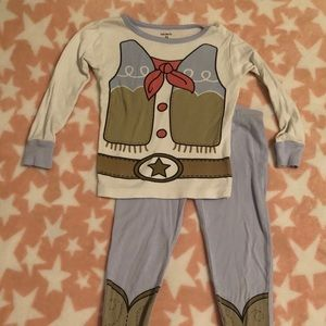 Carter's girl 3T cowgirl Pajamas